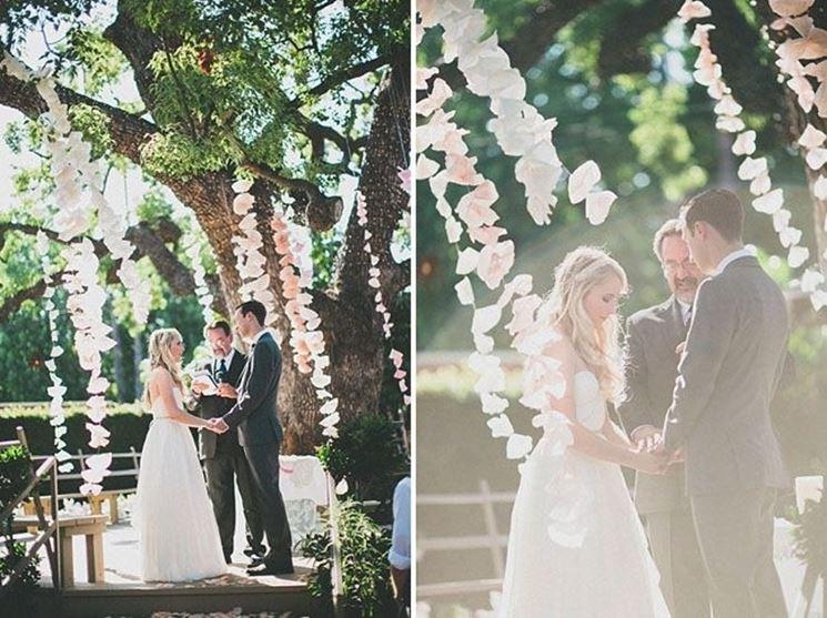 Cerimonia per matrimonio fai da te