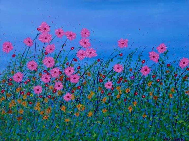 Dipinto floreale