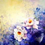 Quadro floreale in stile classico