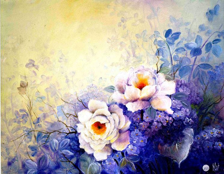 Quadri floreali regalare fiori caratteristiche dei for Immagini di quadri con fiori