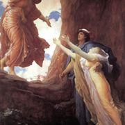 Dipinto di Frederic Leighton - il ritorno di Persefone