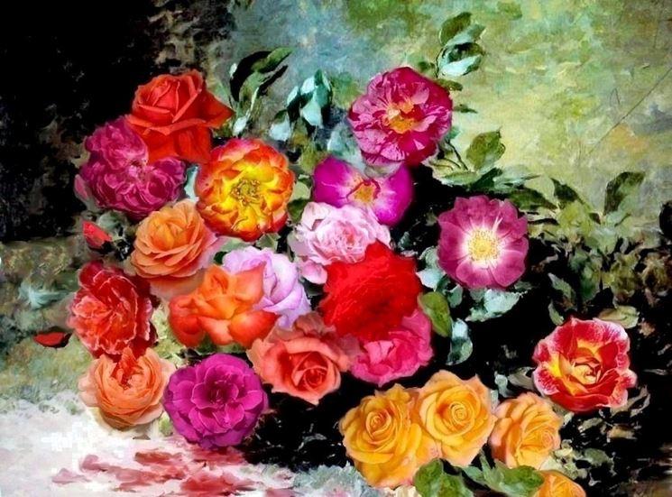 Rappresentazione Artistica di Rose