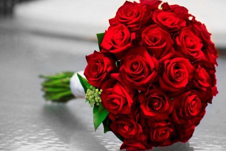 Le rose rosse, simbolo di amore passionale