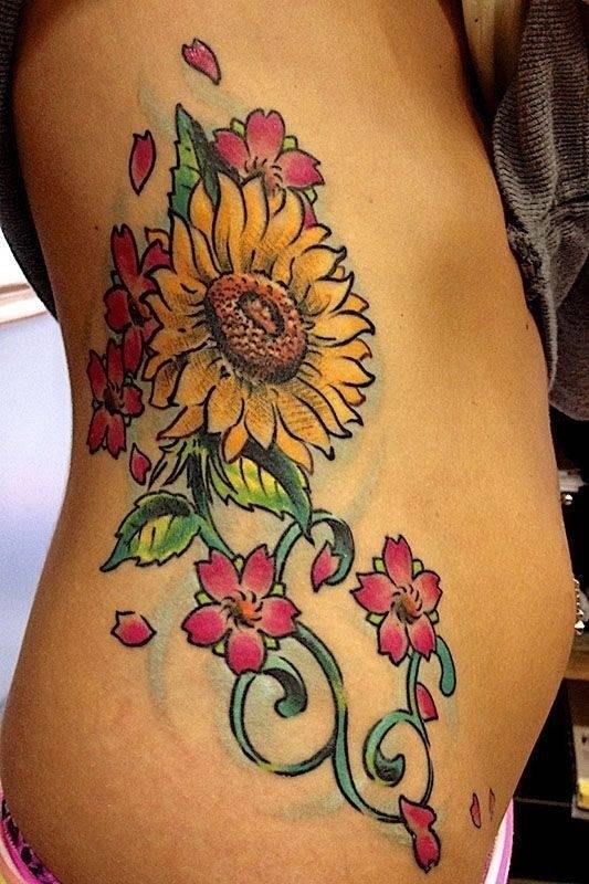 Tatuaggio Girasole Significato Significato Fiori Girasole