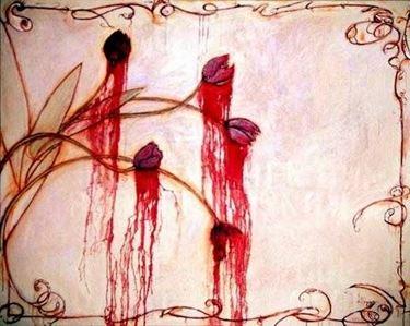 Tulipani rossi e sangue