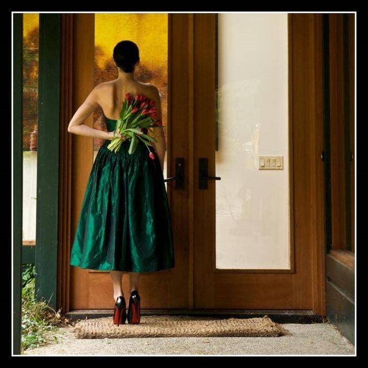 Soprendere con un mazzo di tulipani