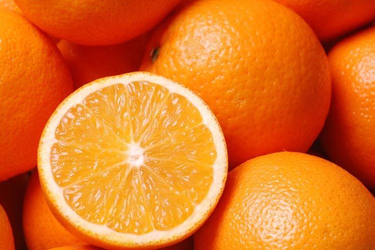 Esempio di arancia bionda