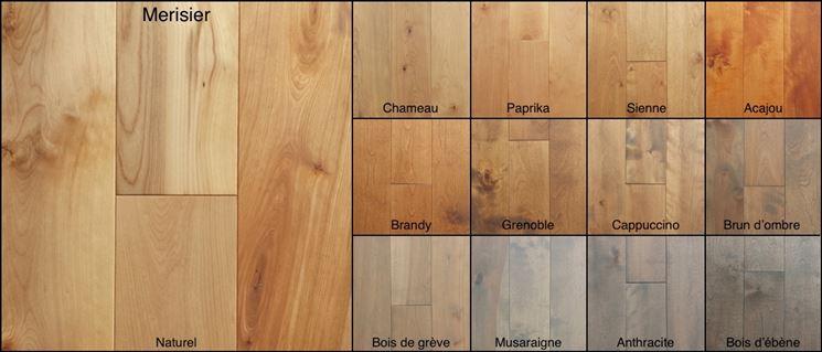 Colorazione legno ciliegio