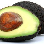 Seme e frutto di avocado