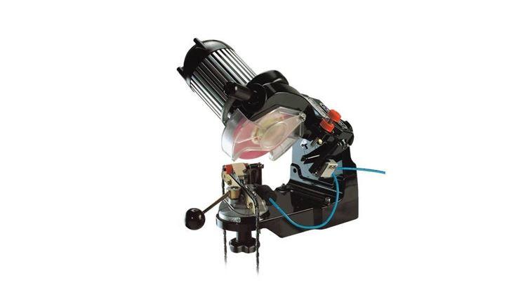Un affilatore elettrico per la catena della motosega