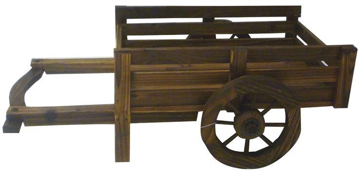 carriola legno due ruote