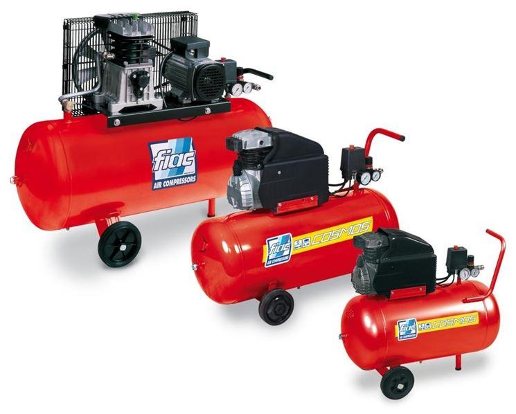 Tre modelli di compressori coassiali