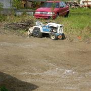 trattorino in giardino