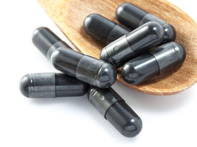 Carbone attivo capsule