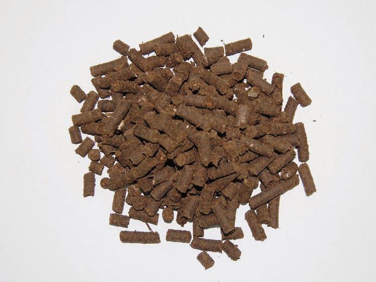 Concime <em>stallatico</em> in pellet