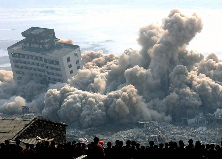 Demolizione costruzione