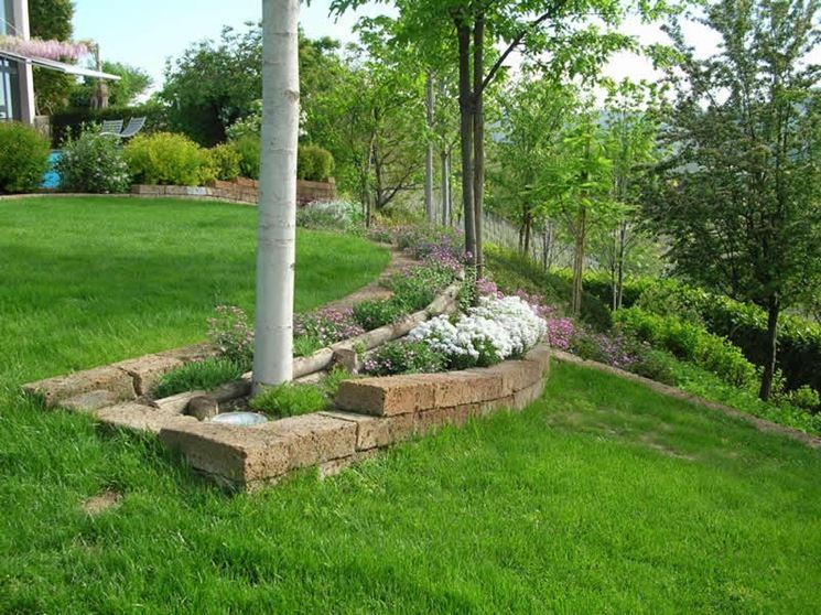 Blocchi di tufo giardinaggio blocchi di tufo - Come si progetta un giardino ...