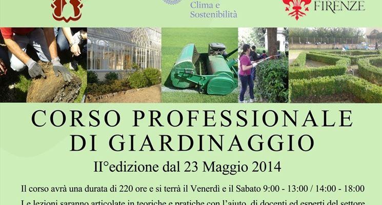 Corso di giardinaggio della Società Toscana di Orticoltura