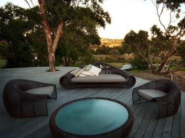 Comfort e design in giardino