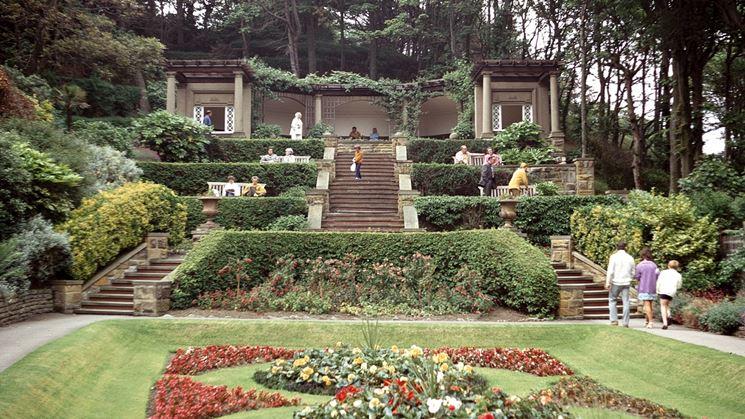Classico giardino all'italiana