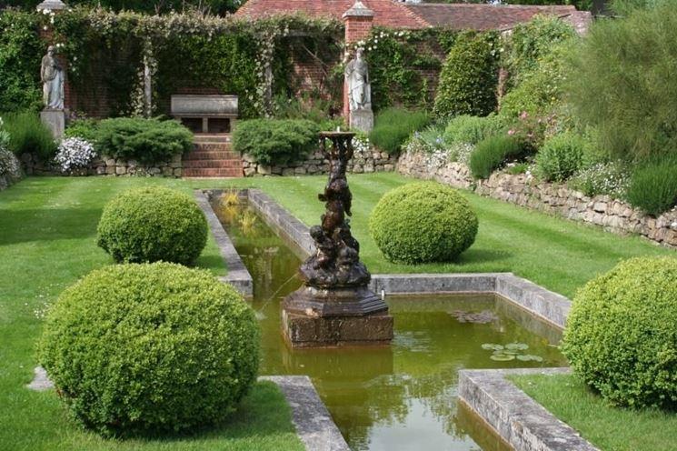 Esempio di giardino all'italiana