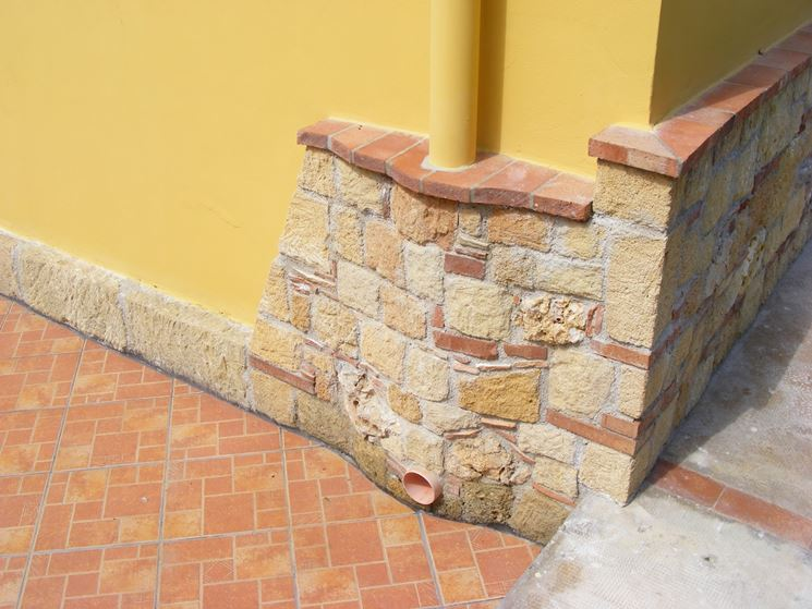 Mattoni di tufo giardinaggio caratteristiche dei - Prezzo intonaco esterno ...
