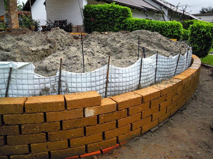 Recinzioni giardino in mattoni design casa creativa e - Muretti da giardino ...