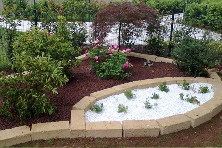 Mattoni tufo giardinaggio mattoni in tufo per il giardino - Aiuole per giardino ...