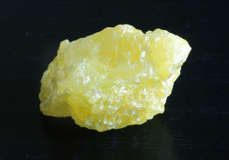 Minerale di zolfo