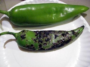 Peperone verde friggitello