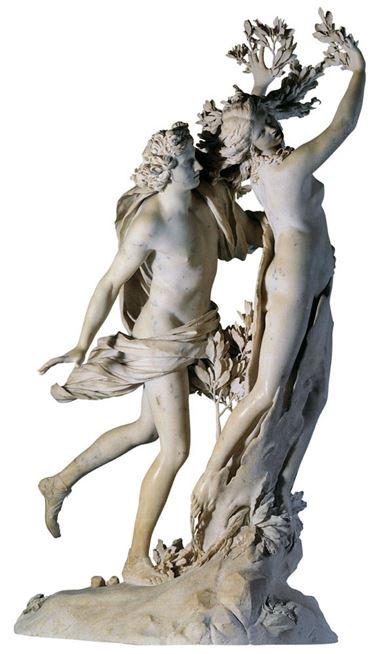 Scultura di Gian Lorenzo Bernini rappresentate Dafne e Apollo