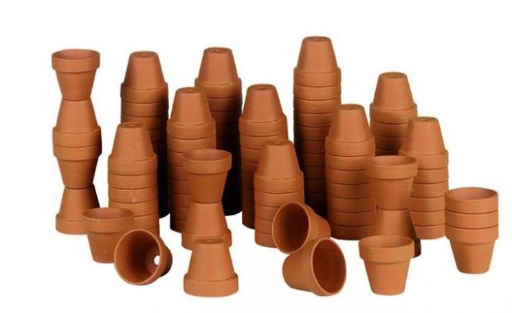 Vasi di piante grasse di plastica