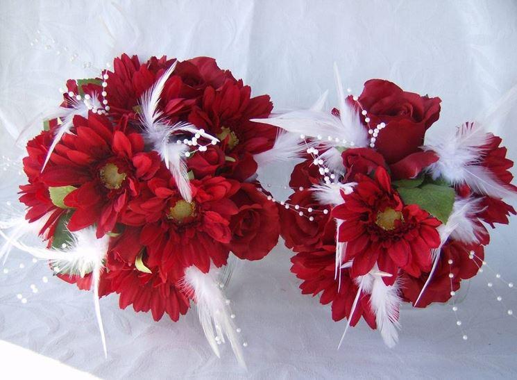Bouquet di gerbere rosse