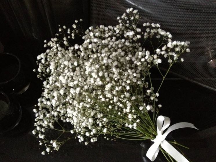 Velo di sposa, bouquet