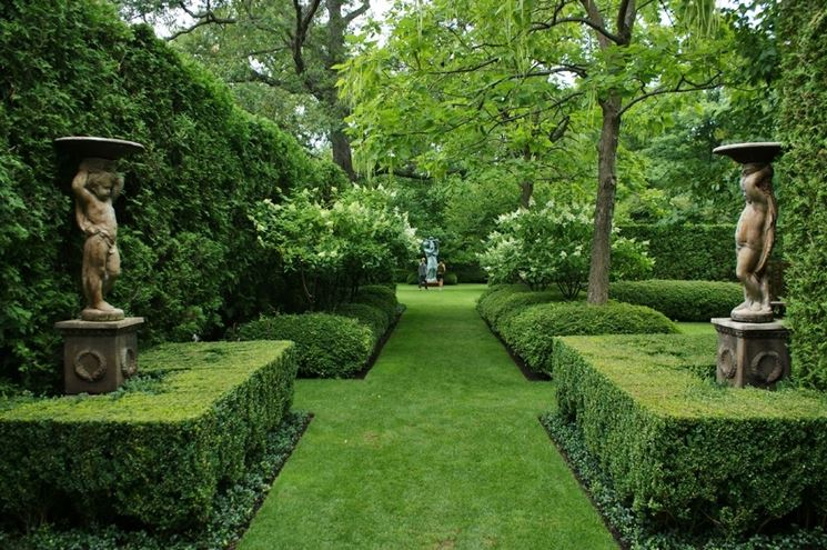 Esempio di giardino moderno