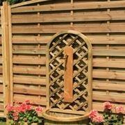 frangivento in legno