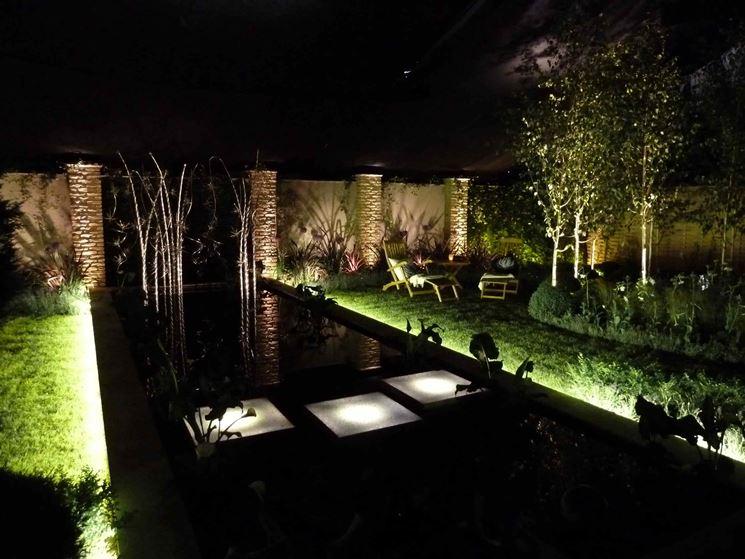Accessori per giardino accessori da esterno accessori - Luci per giardino ...