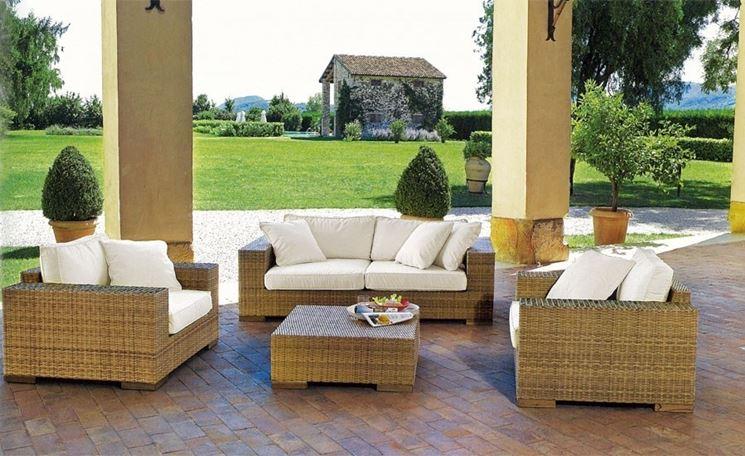 Arredamento esterni accessori da esterno scegliere gli - Arredi per giardini e terrazzi ...