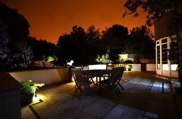 Luci per terrazzo esterno lampade a led per balconi applique da