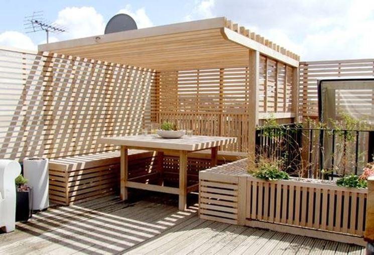 Arredo da esterno accessori da esterno come realizzare for Pallet arredo giardino