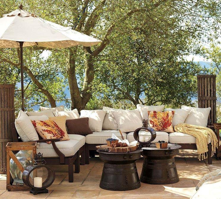 arredo esterno per giardino - accessori da esterno - arredi esterni