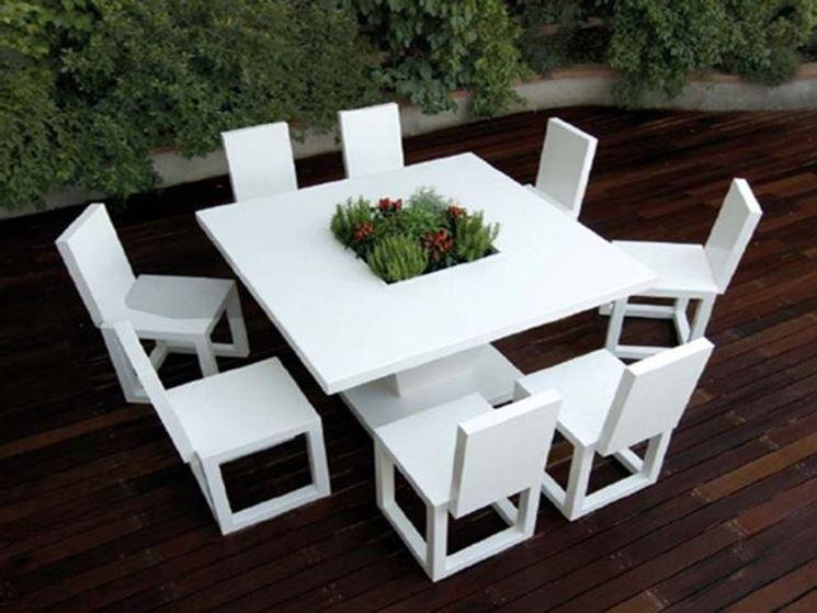 Arredo giardino in plastica accessori da esterno for Arredamento da esterno