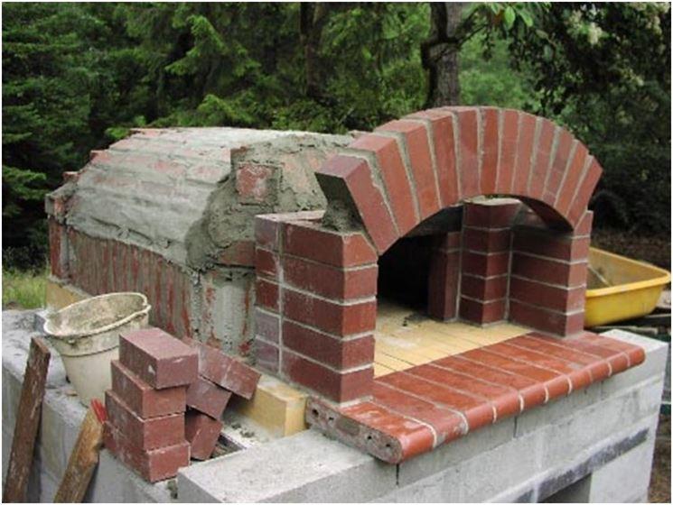 Costruire un forno a legna accessori da esterno il - Forno per pizza da giardino ...