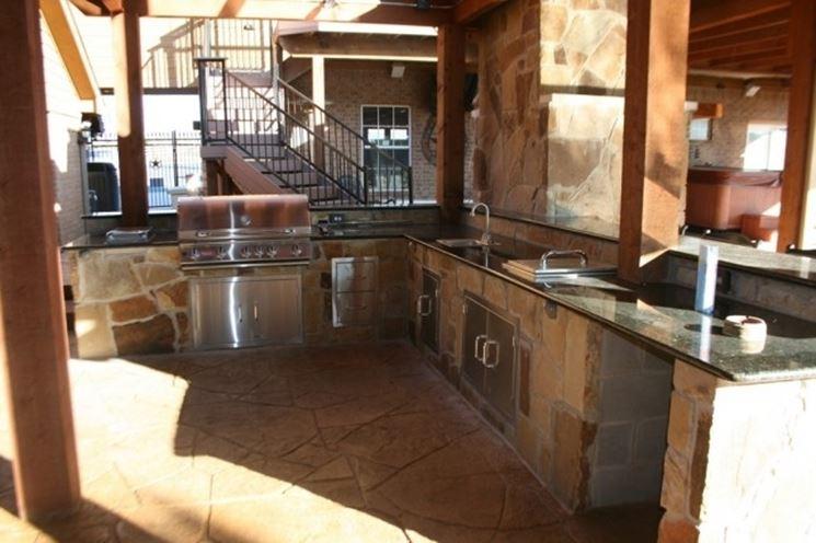 Cucina da esterno accessori da esterno caratteristiche - Cucina da esterno ...