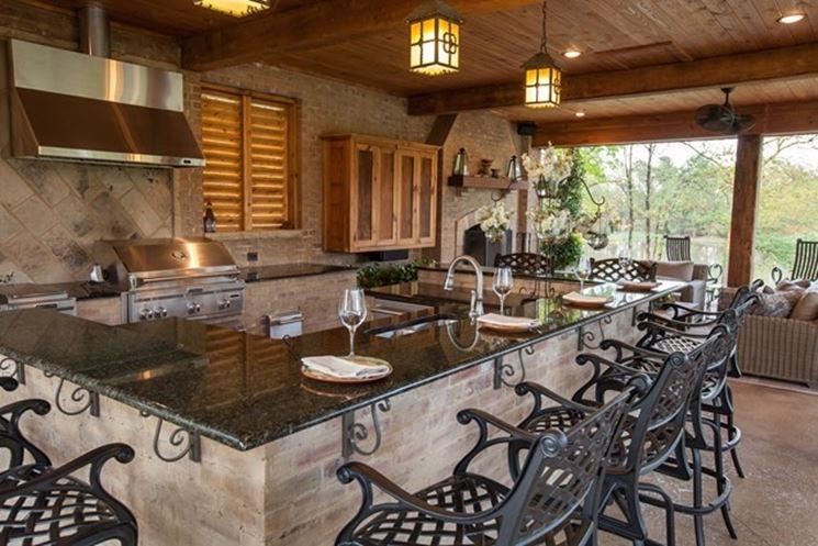 Cucine da esterno accessori da esterno migliori cucine - Cucina da esterno ...