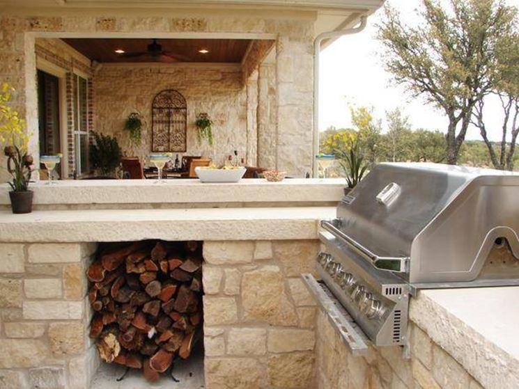 Cucine in muratura per esterni - Accessori da esterno - Cucine in muratura esterno