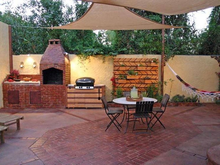 Cucine in muratura per esterni   accessori da esterno   cucine in ...