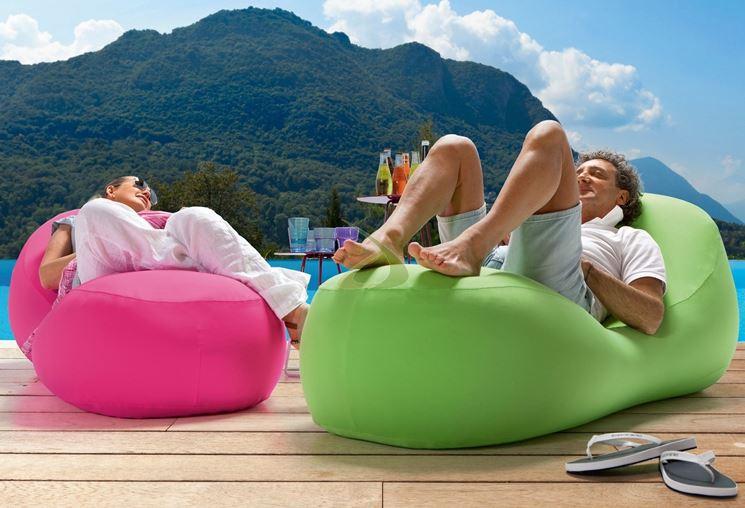 Cuscini da esterno accessori da esterno cuscini per - Cuscini per poltrone da giardino ...