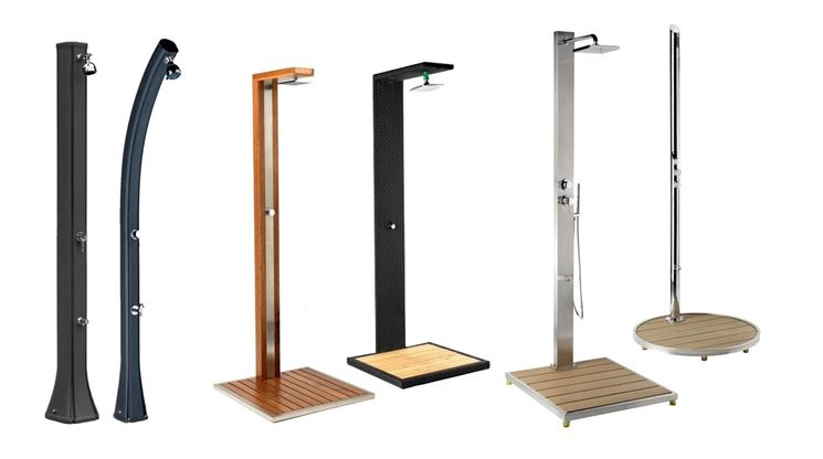 Doccia giardino accessori da esterno doccia per il for Accessori per laghetti da giardino