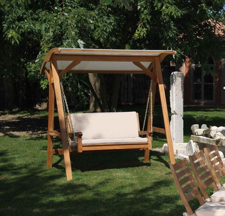 Dondolo da giardino accessori da esterno modelli di dondolo da giardino - Dondolo da giardino prezzi ...